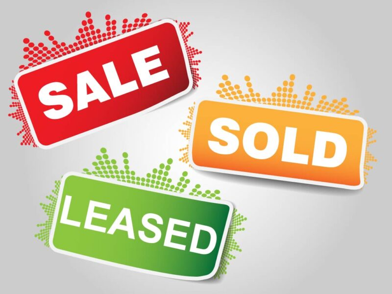 Sale Sold Leased